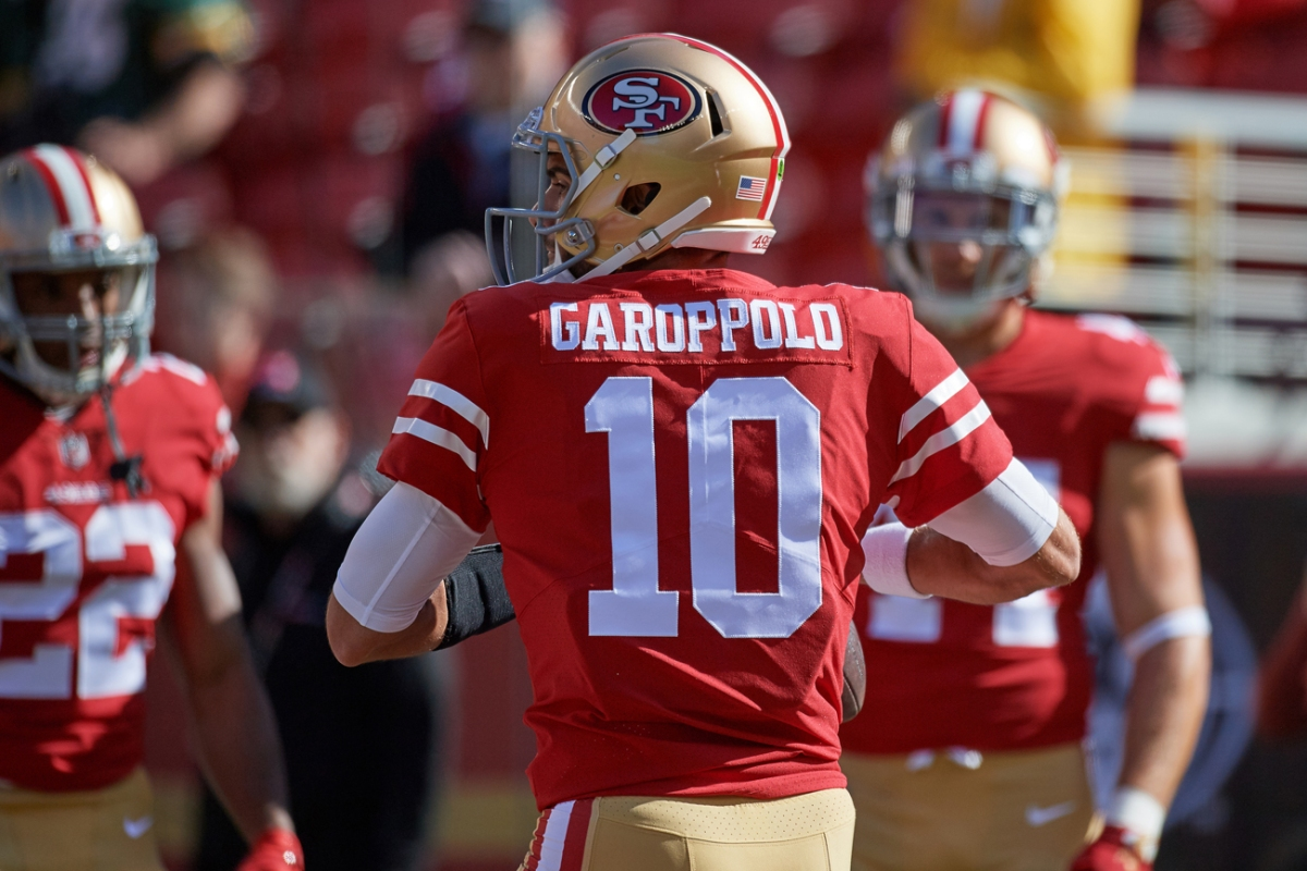 So long, Jimmy Garoppolo