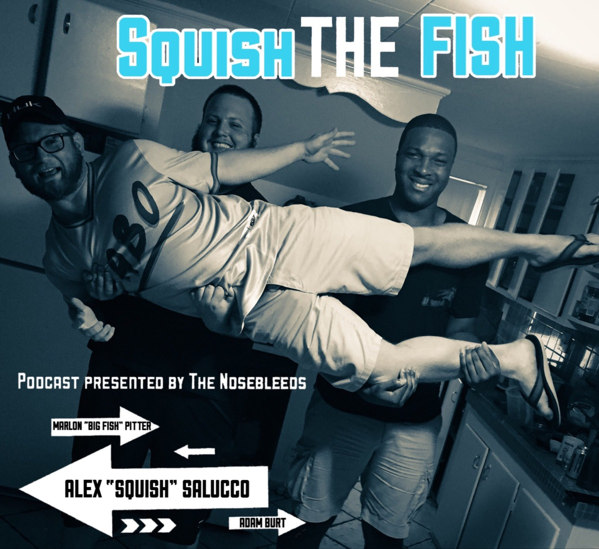 Squish the Fish ep. 11 - off the rails with Danny Logan